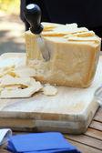 Parmigiano reggiano cheese — Stock Photo