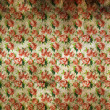Stained vintage floral wallpaper — Stock Photo