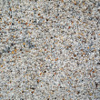 Gravel wall texture - Stock Photo