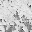 Cracked white wall — Stock fotografie