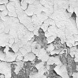 Cracked white wall — Stockfoto