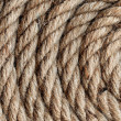 Background texture of coiled rope — Stock Photo