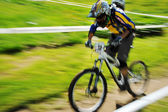Mountain biker — Foto Stock