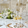 Stock Photo: Wedding setting on table