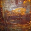 Rusty surface on corroded metal — 图库照片 #36289753