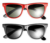 Two pairs of modern trendy sunglasses — Stock Photo