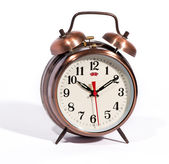 Classic vintage style alarm clock with bells — ストック写真