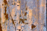 Corroded weathered metal background texture — 图库照片