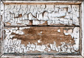 Old grunge cracked wooden frame — Stock Photo
