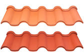 Dach metalowy — Zdjęcie stockowe