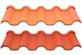 Metallo tetto — Foto Stock