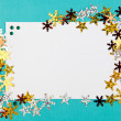 Decorative Christmas frame — Stock Photo