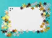 Decorative Christmas frame — Stock Photo