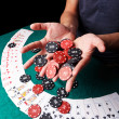 Cards for poker — Stock Photo #24519031