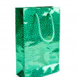 Green gift packets — Stock Photo
