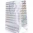 Silver gift bag — Stock Photo #24608693
