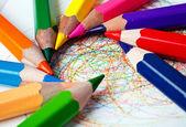Colored pencils — Photo
