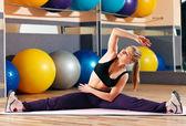 Fitness meisje — Stockfoto