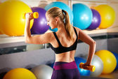 Fitness trainer — Stock Photo