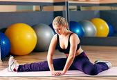Fitness treiner — Foto de Stock