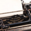 Blank sheet in a typewriter — Stock Photo #35740103