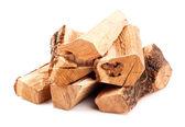 Yakacak odun yığını — Stok fotoğraf