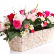 Stock Photo: Artifical floral arrangement