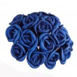 Bouquet of blue roses — Stock Photo