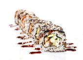 Rotolini di sushi — Foto Stock