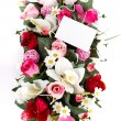 Decorated flowers basket — Stock Photo #50947759