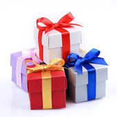 Colourful gifts — Stock Photo