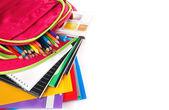 Schule rucksack — Stockfoto