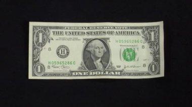 Dollaro sotto grande pressione euro — Video Stock
