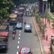 Indonesijakartcity traffic close real time — Stock Video #14742259
