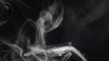 Långsam diagonal rök torka — Stockvideo
