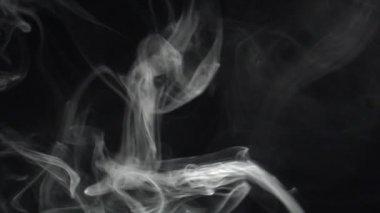 Pomalé diagonální kouře utěrka — Stock video