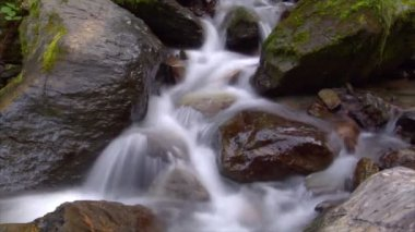 Time lapse water flow cascade 10234 — Stock Video