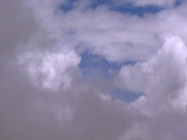Fly through clouds 2 10343 — Stock Video
