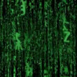 Fly through matrix code loopable 10370 - Stock Photo