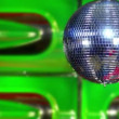 Disco mirror ball green fast 10388 — Stock Video