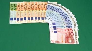 Euro Money time lapse 10368 — Stock Video