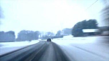 小さな町の時間の経過 10381 に高速 — ストックビデオ