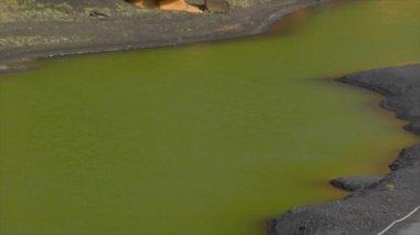 El golfo dead vulcan zoom pan 10500 — Stock Video