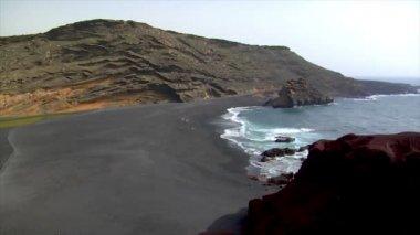 El golfo wide pan dead vulcan area 10502 — Stock Video