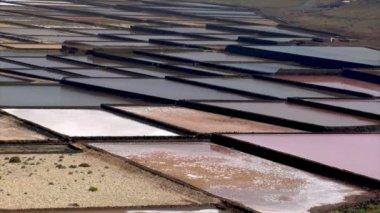 Pan old saline close 10517 — Stock Video