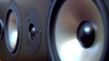 Speaker two extreme loop 10623 — Stock Video