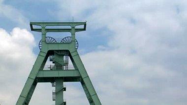 Kömür şaft Kulesi zaman atlamalı 10702 — Stok video
