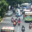 Indonesia jakarta city traffic close real time 10704 - Stock Photo
