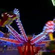 Stock Video: Funfair oktoberfest carousel wide quick 11060