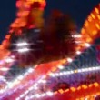 Stock Video: Funfair carousel with dreamy look 11067